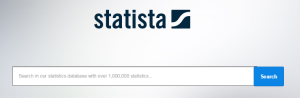 Image of statista search box