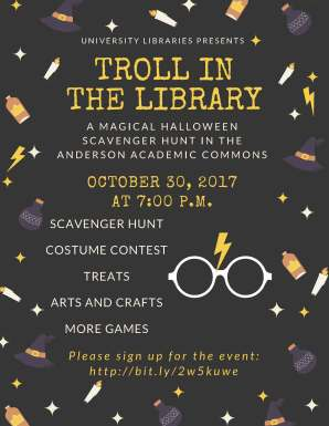 troll in the library poster