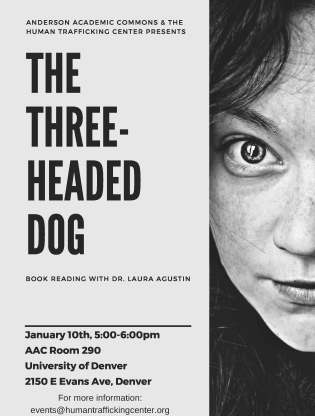 three headed dog poster