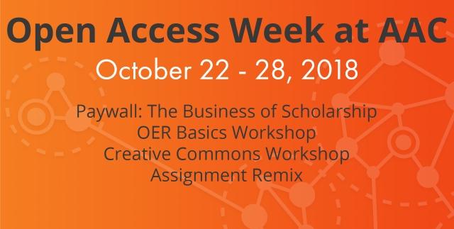 OA Week banner